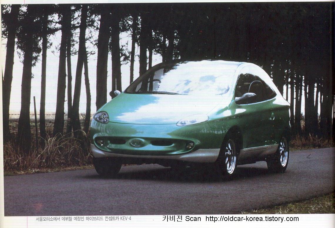 Kia KEV-4 concept car