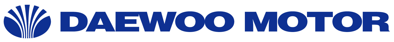 Daewoo motor logo emblem
