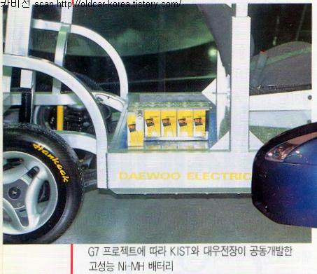 Daewoo Green EV