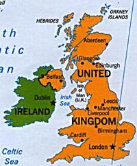 영국과 아일랜드