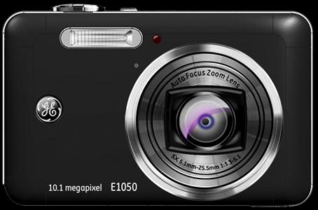 ge의 디지털 카메라 E1050