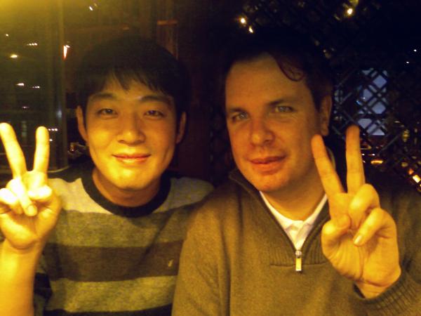 Laurence Moroney (Right) & Gilbert Lee (Left)