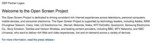 Open Screen Project