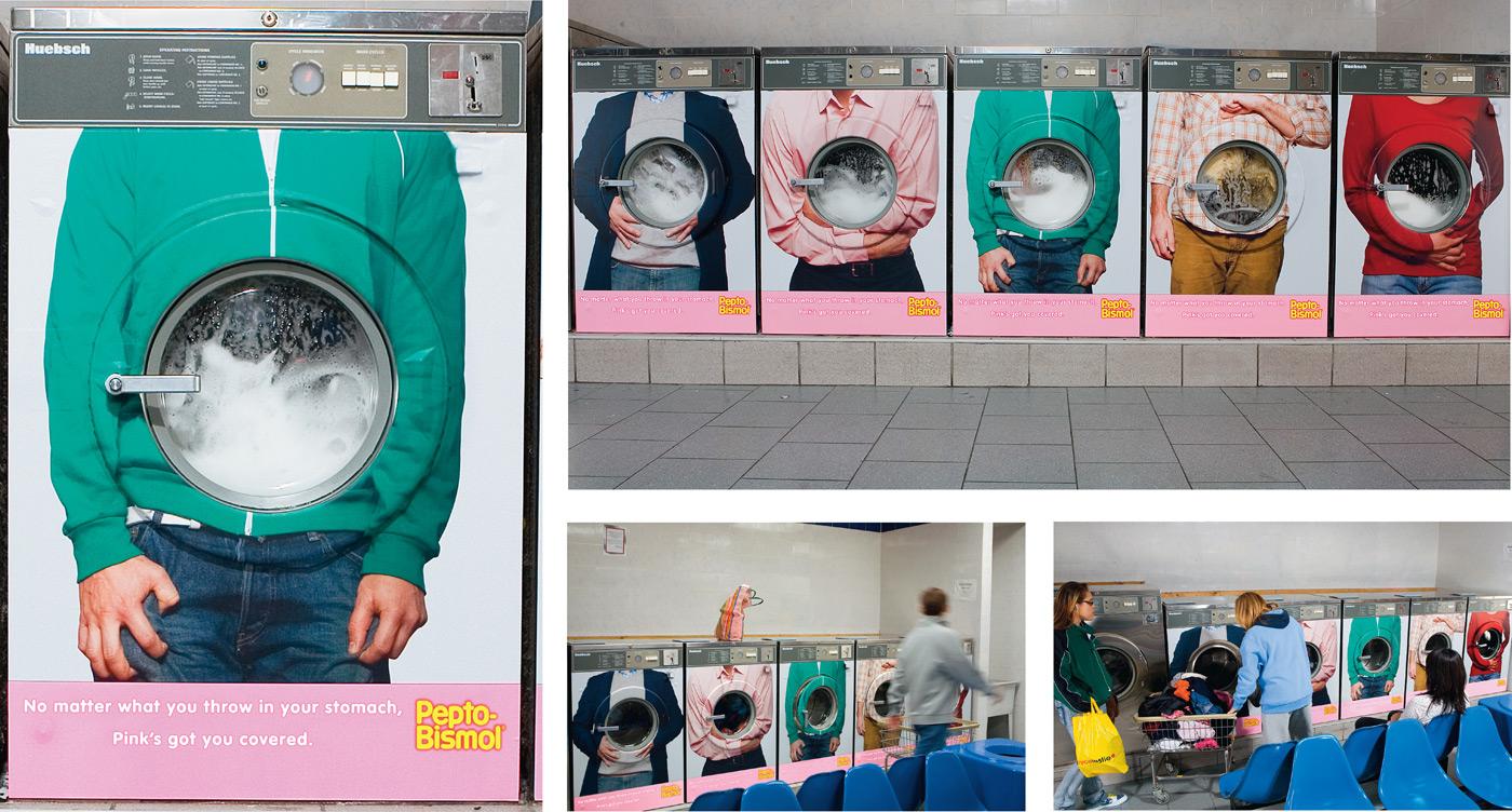 해외광고-위장약--펩토비스몰-Pepto-Bismol-마케팅-사진