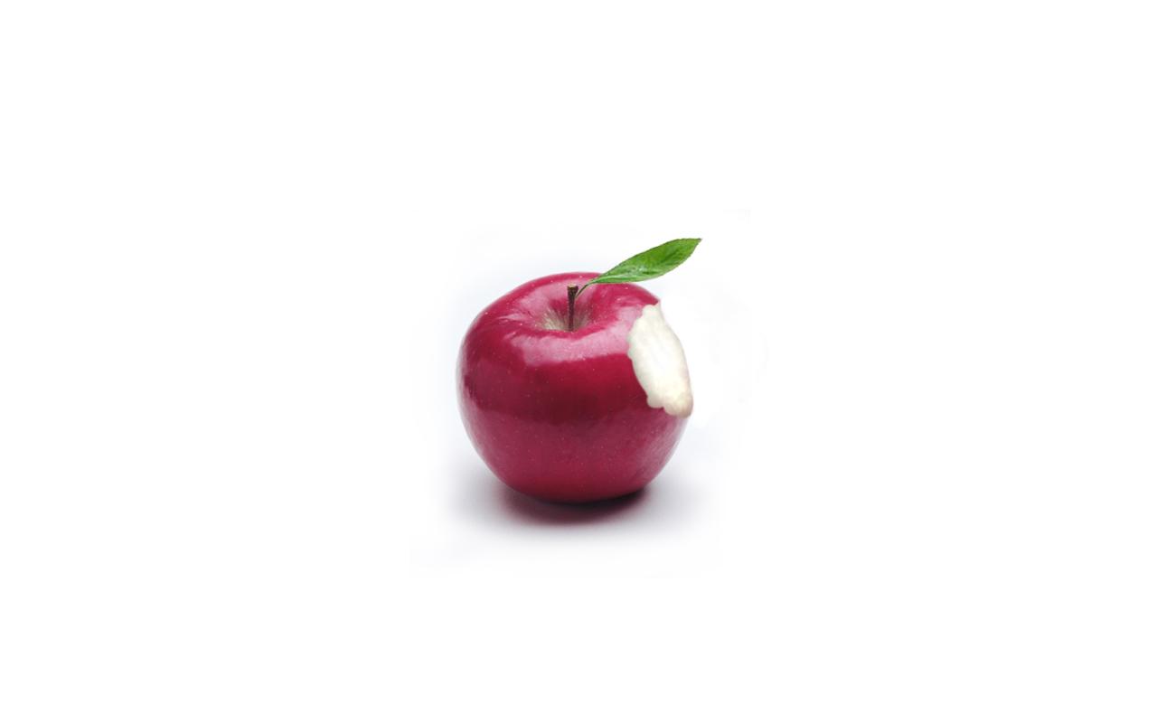 맥북(macbook) 바탕화면~ 애플로고 실사(?)버젼