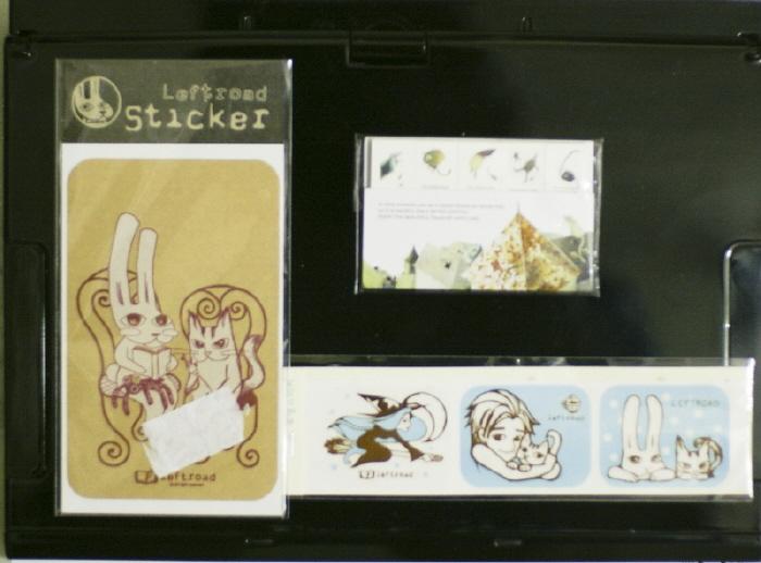 sticker, stick marker