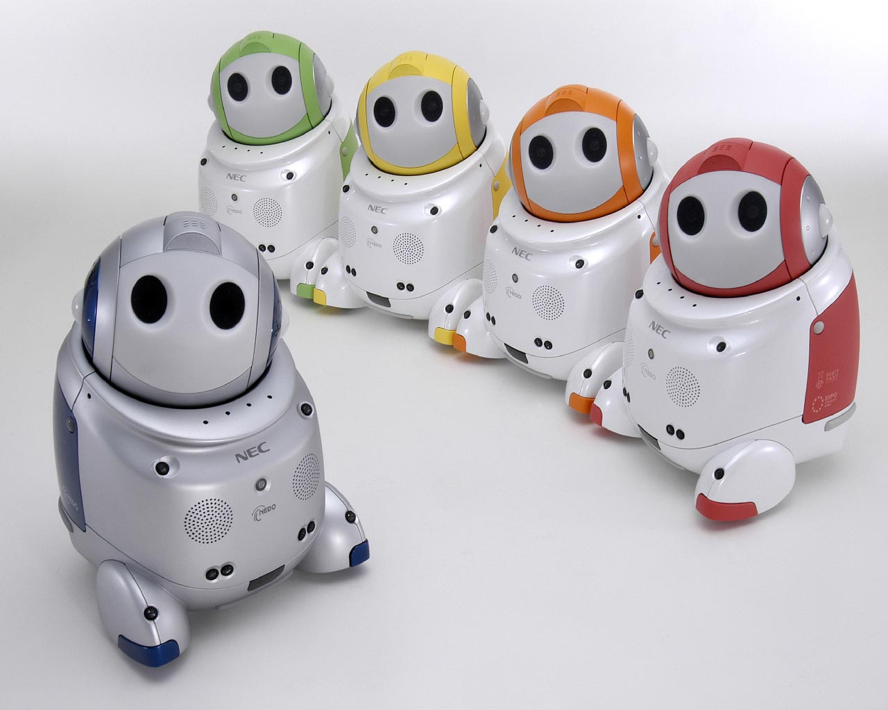 PaPeRo, a Home Robot by NEC