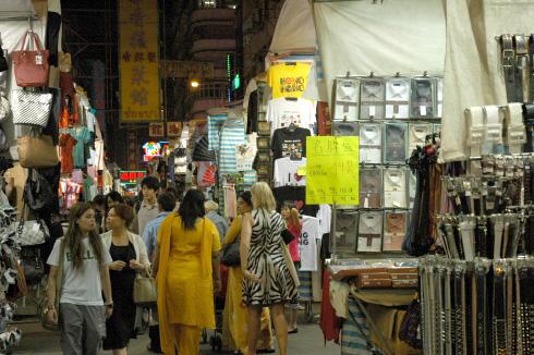 홍콩 야시장