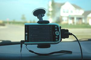 Dell Axim GPS
