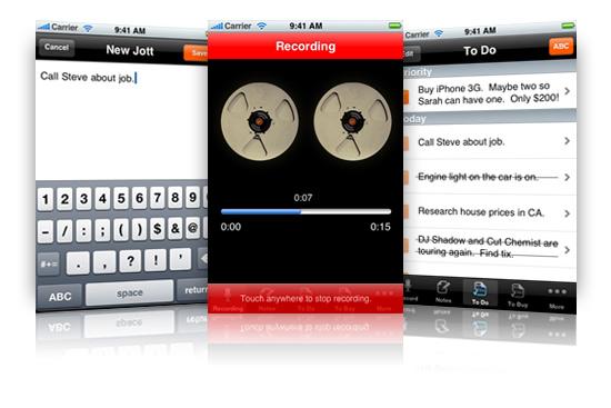 Jott for iPhone -_-;;;
