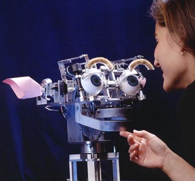 Kismet, a Sociable Robot by MIT Media Lab.