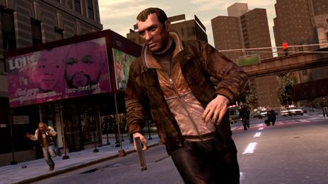 GTA4 Screenshot - Daily life as a street gang