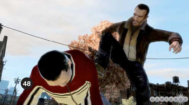 GTA4 Screenshot - How to do with people you don't like