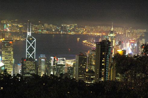 홍콩 야경