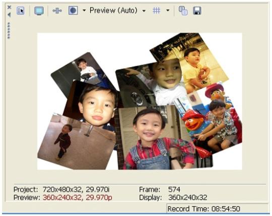 사진들이 배열된 모습