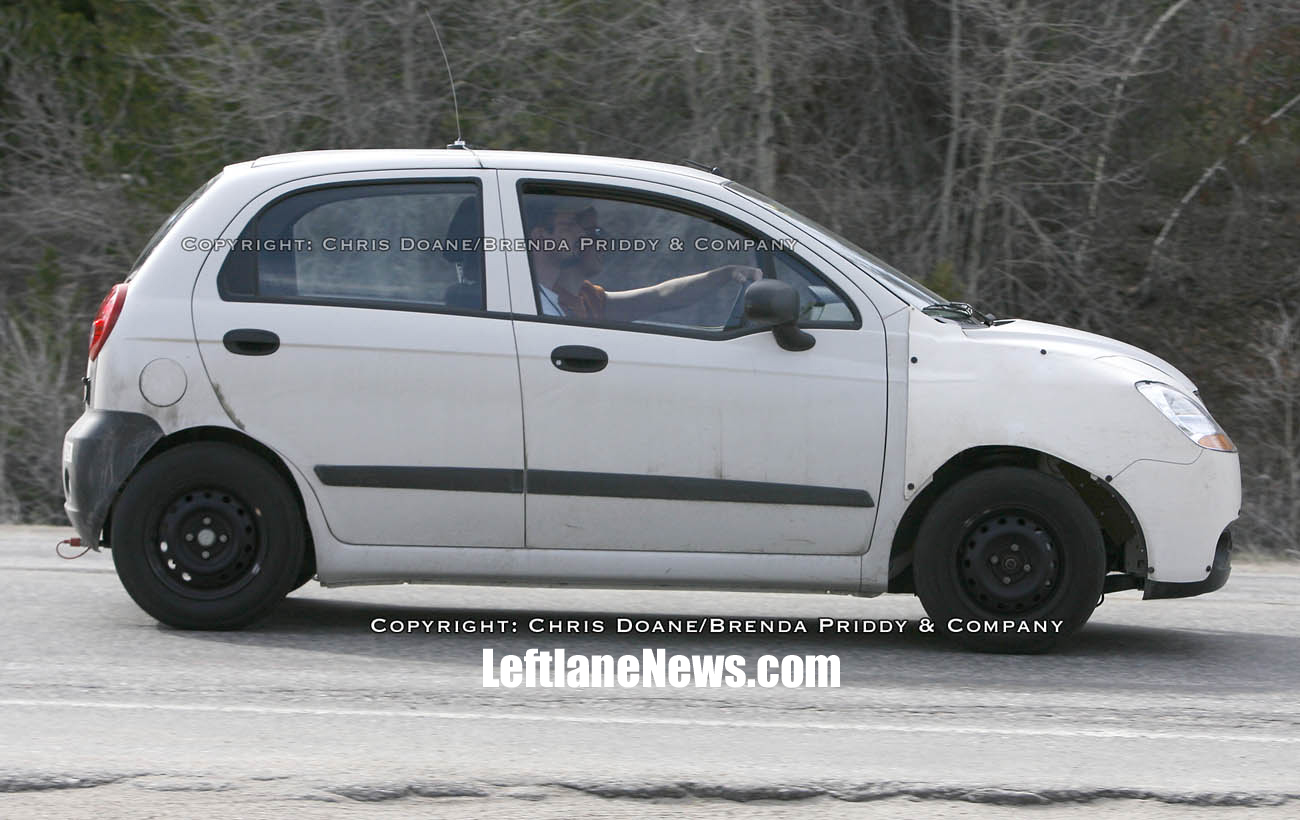 2010 Chevrolet Beat spyshot