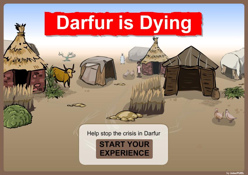 Darfur is Dying - Splash