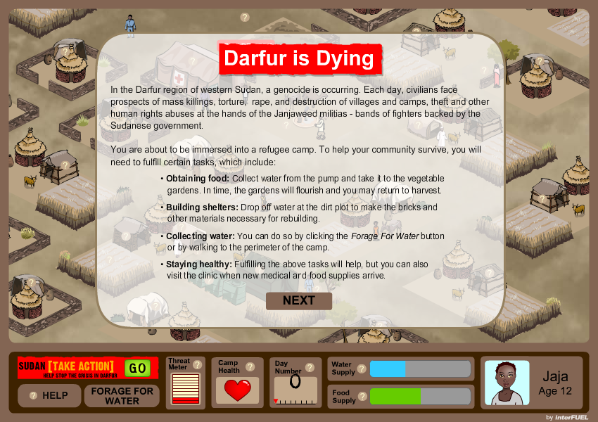 Darfur is Dying - Town Mission