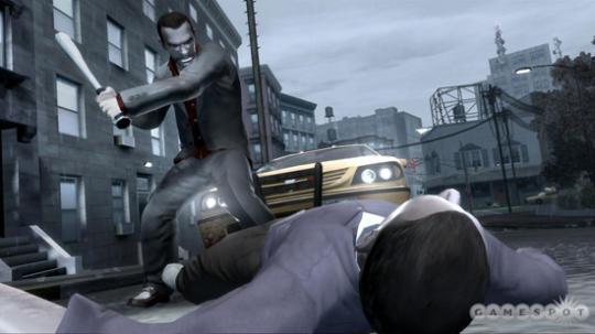 GTA4 Screenshot - How to use a bat