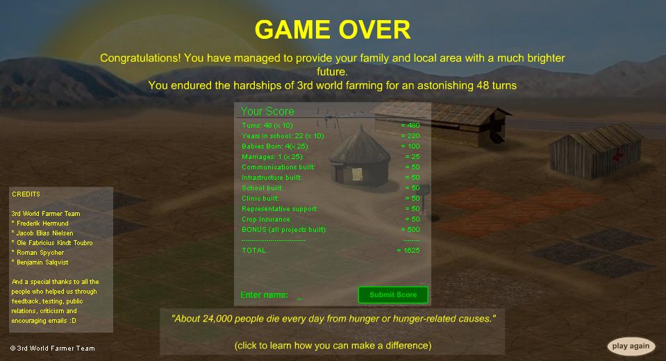 Successful Ending of 3rd World Farmer
