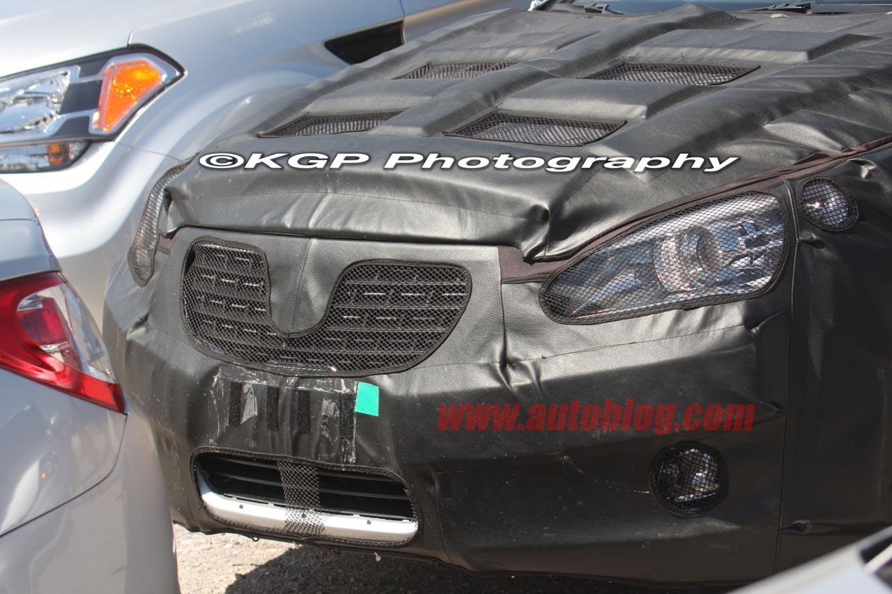 KIA VG Sedan spyshot