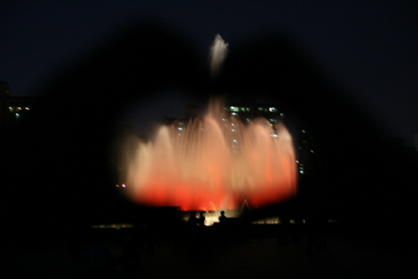 일산 호수공원 노래하는 분수