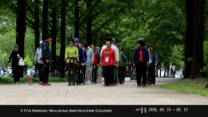 17th Nordic Walking Instructor Course