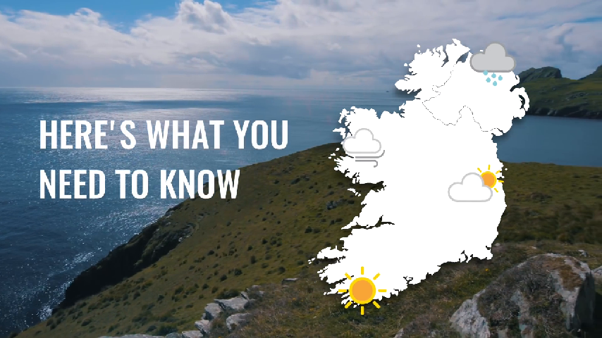 All About the Weather on the Island of Ireland
