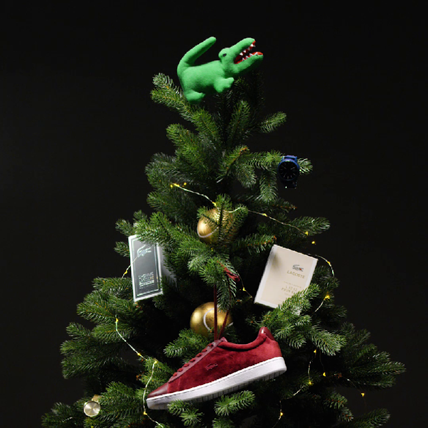 Happy Holidays from Lacoste!